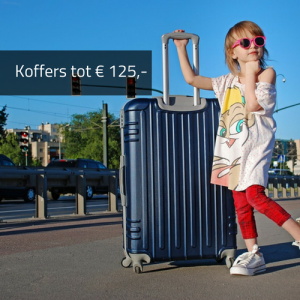 KOFFERS TOT € 125,-