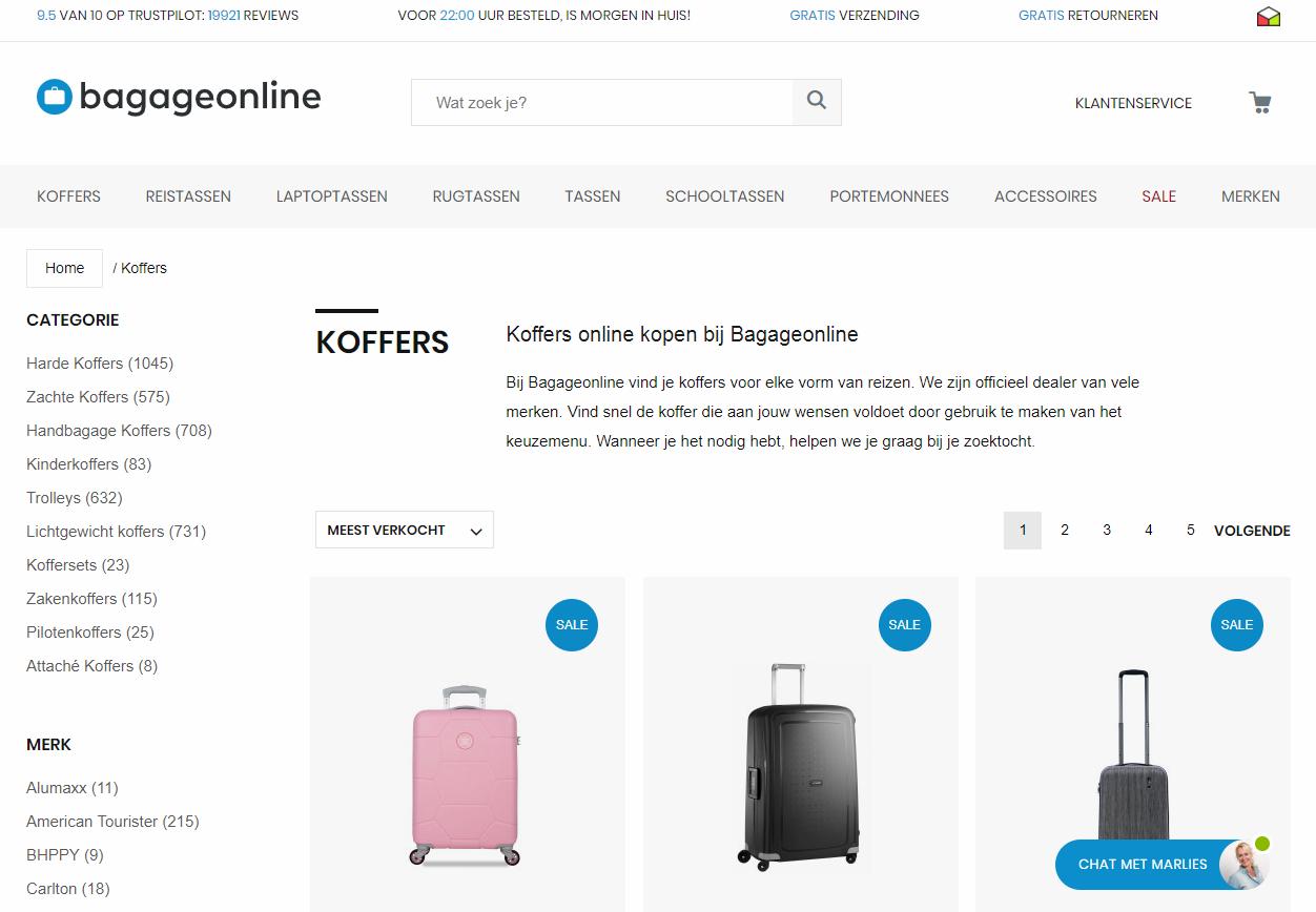 koffer online kopen