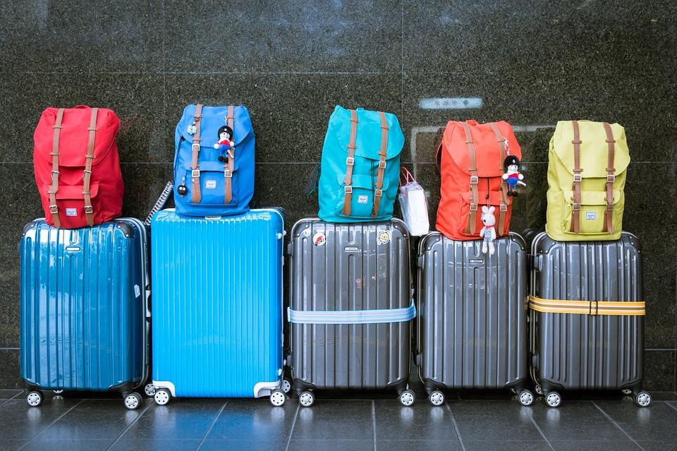 Koffer van ABS materiaal