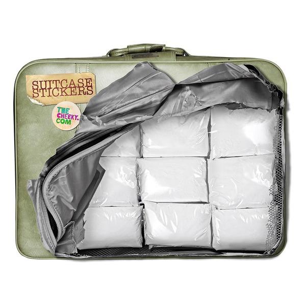 stoere sticker voor op koffer