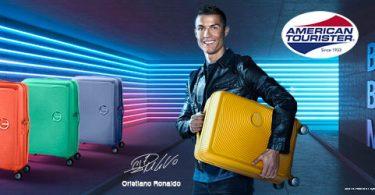 De koffer van Cristiano Ronaldo