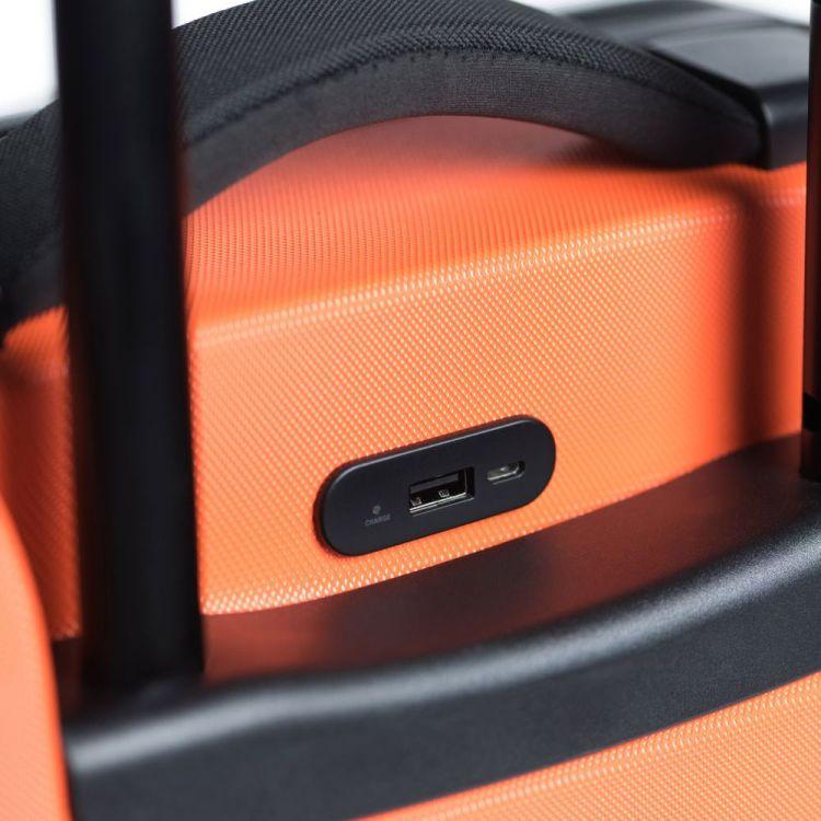 usb aansluiting Herschel koffer