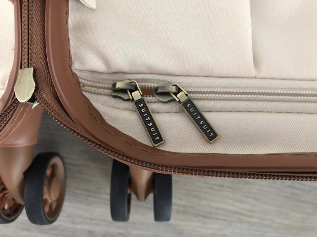 SuitSuit koffer review interieur detail